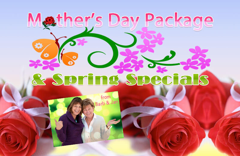 Mother's Day & Spring Specials 2015